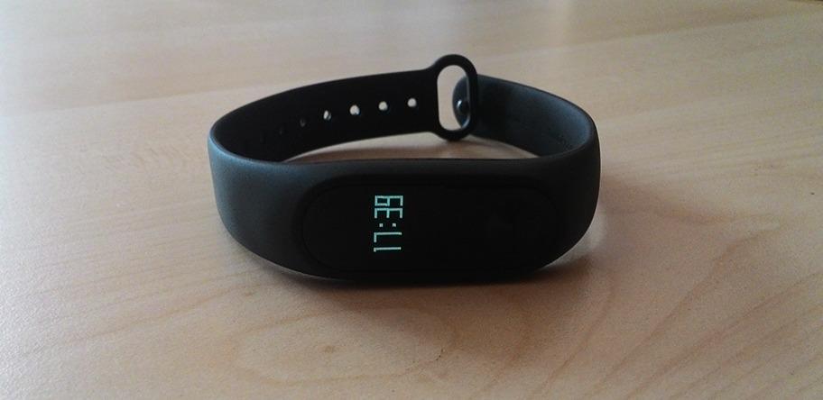 Mi Band 2 Akıllı Bileklik Saat Gösterimi